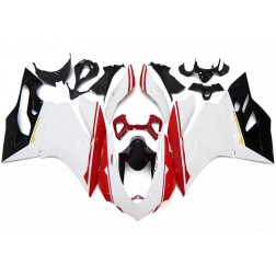 White, Red & Black Motorcycle Fairings For 2012-2014 Ducati 899 / 1199