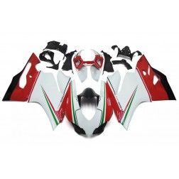 White, Red & Green Motorcycle Fairings For 2012-2014 Ducati 899 / 1199