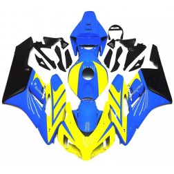 Blue & Yellow Motorcycle Fairings For 2004-2005 Honda CBR1000RR