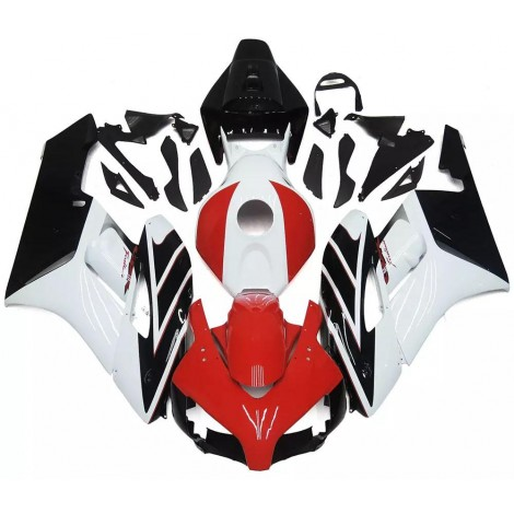 White, Red & Black Motorcycle Fairings For 2004-2005 Honda CBR1000RR