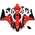 Red & Black Motorcycle Fairings For 2006-2007 ...