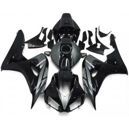 Black & Gray Motorcycle Fairings For 2006-2007 Honda CBR1000RR