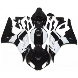 Black & White Motorcycle Fairings For 2006-2007 Honda CBR1000RR