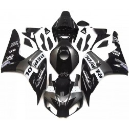Black & Gray Repsol Motorcycle Fairings For 2006-2007 Honda CBR1000RR