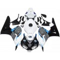 White, Black & Blue Motorcycle Fairings For 20...