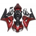 Pearl Red & Matte Black Motorcycle Fairings Fo...