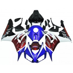 Blue, Red & White Motorcycle Fairings For 2006-2007 Honda CBR1000RR