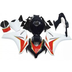 Black, White & Red Motorcycle Fairings For 2008-2011 Honda CBR1000RR