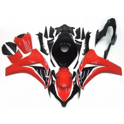 Black & Red Motorcycle Fairings For 2008-2011 Honda CBR1000RR