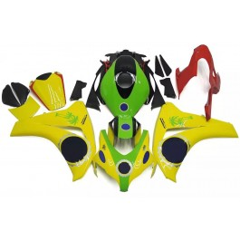 Yellow & Green Motorcycle Fairings For 2008-20...