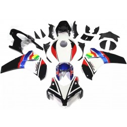 Black & White Motorcycle Fairings For 2008-2011 Honda CBR1000RR