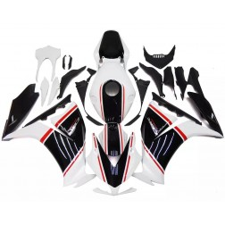 Black & Pearl White Motorcycle Fairings For 2012-2016 Honda CBR1000RR