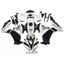 Black & White Motorcycle Fairings For 2012-2016 Honda CBR1000RR