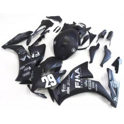 Flat Black FMA Motorcycle Fairings For 2012-2016 Honda CBR1000RR