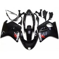 Gloss Black Motorcycle Fairings For 1997-2007 Honda CBR1100XX