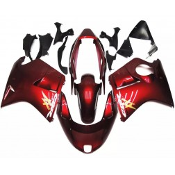 Dark Red Motorcycle Fairings For 1997-2007 Honda CBR1100XX