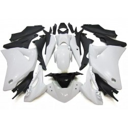 White & Black Motorcycle Fairings For 2011-2014 Honda CBR250R