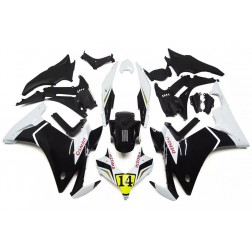 White & Black Motorcycle Fairings For 2013-2015 Honda CBR500R