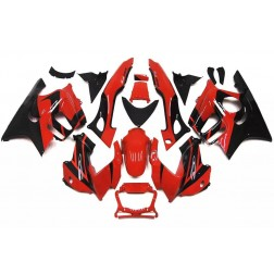 Red & Black Motorcycle Fairings For 1997-1998 Honda CBR600F3