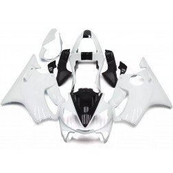 White & Black Motorcycle Fairings For 2001-2003 Honda CBR600F4i