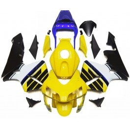Yellow, Black & White Motorcycle Fairings For ...