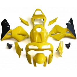 Yellow Motorcycle Fairings For 2003-2004 Honda CBR...