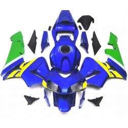 Blue, Yellow & Green Motorcycle Fairings For 2003-2004 Honda CBR600RR