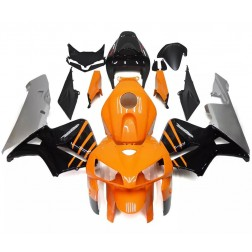 Orange, Black & Gray Motorcycle Fairings For 2005-2006 Honda CBR600RR