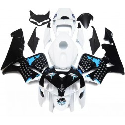 White, Black & Blue Motorcycle Fairings For 2005-2006 Honda CBR600RR