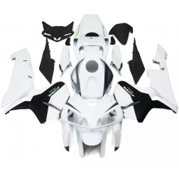 White & Black Motorcycle Fairings For 2005-2006 Honda CBR600RR