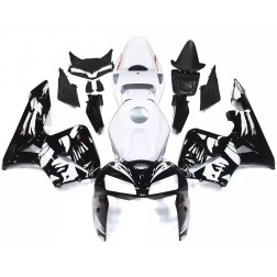 Black & White Motorcycle Fairings For 2005-2006 Honda CBR600RR