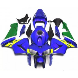Blue, Green & Yellow Motorcycle Fairings For 2005-2006 Honda CBR600RR