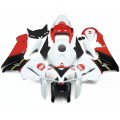 White, Red & Black Motorcycle Fairings For 200...