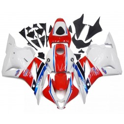 Red, White & Blue Motorcycle Fairings For 2009-2012 Honda CBR600RR