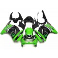 Black & Green Motorcycle Fairings For 2008-201...