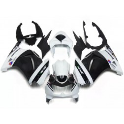 Black & White Elf Motorcycle Fairings For 2008-2012 Kawasaki Ninja 250R