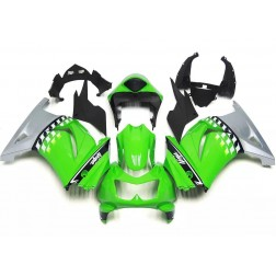 Green & Grey Motorcycle Fairings For 2008-2012 Kawasaki Ninja 250R