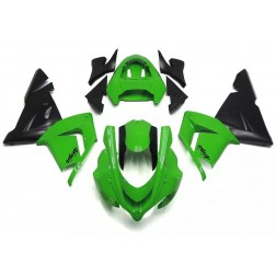 Green & Black Motorcycle Fairings For 2004-2005 Kawasaki ZX-10R