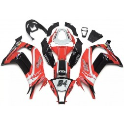 Red & Black Motorcycle Fairings For 2011-2015 Kawasaki ZX-10R