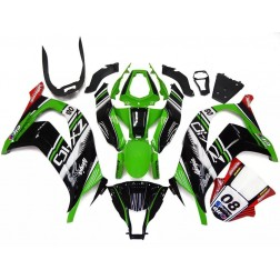 Green & Black Elf Motorcycle Fairings For 2011-2015 Kawasaki ZX-10R