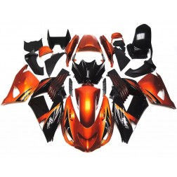 Orange & Black Motorcycle Fairings For Motorcycle Fairings For 2006-2011 Kawasaki ZX-14R
