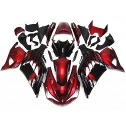 Red & Black Motorcycle Fairings For 2012-2016 Kawasaki ZX-14R