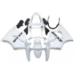 White Motorcycle Fairings For 2000-2002 Kawasaki ZX-6R