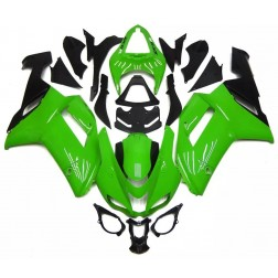 Green & Black Motorcycle Fairings For 2007-2008 Kawasaki ZX-6R