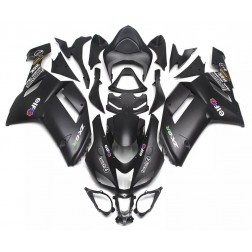 Flat Black Motorcycle Fairings For 2007-2008 Kawasaki ZX-6R