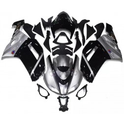 Black & Gray Motorcycle Fairings For 2007-2008 Kawasaki ZX-6R