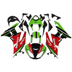 Red, Green & Black Motorcycle Fairings For 2009-2012 Kawasaki ZX-6R