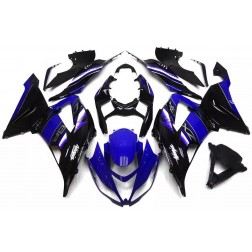 Blue & Black Motorcycle Fairings For 2013-2017 Kawasaki ZX-6R