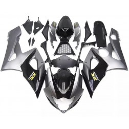 Gray & Black Motorcycle Fairings For 2005-2006 Suzuki GSX-R 1000 K5
