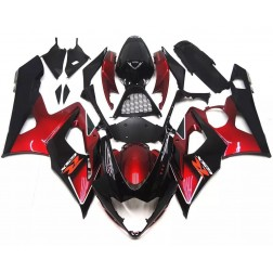 Dark Red & Black Motorcycle Fairings For 2005-2006 Suzuki GSX-R 1000 K5